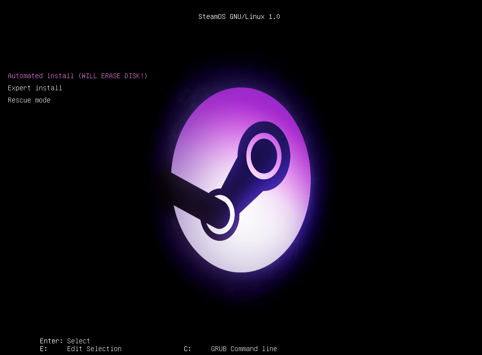 SteamOS_VirtualBox_InstallationStart